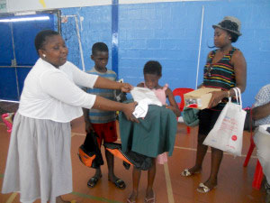 Singamakhalipha children back to school